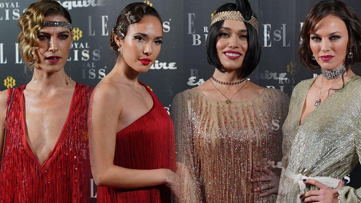 Del falso bob de Helen Lindes a la peluca de Patricia Conde: la fiesta años 20 de Elle y Esquire