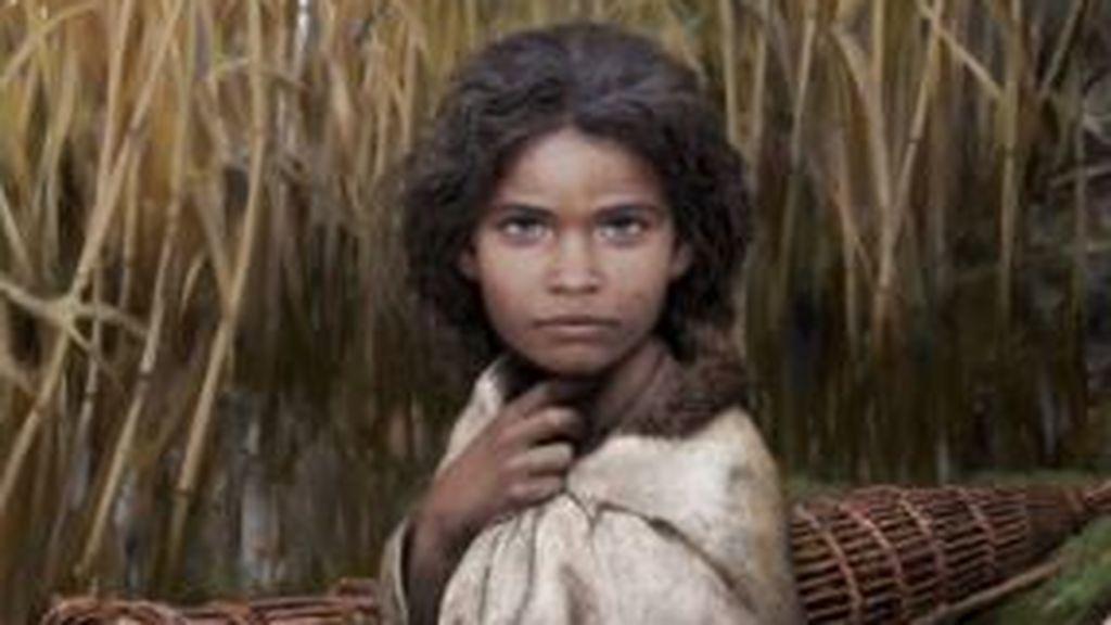 Un chicle de hace 5.700 años revela el ADN de una mujer paleolítica de ojos azules