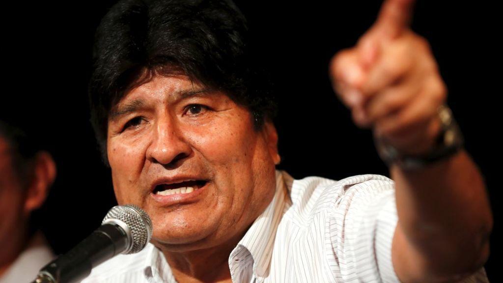 Fiscal General de Bolivia ordena la detención del expresidente Evo  Morales