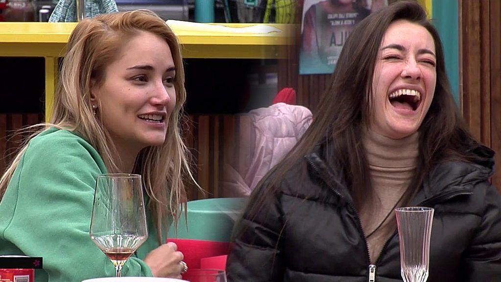 Las chicas bromean con que a Irene le gustaba Alba Carrillo