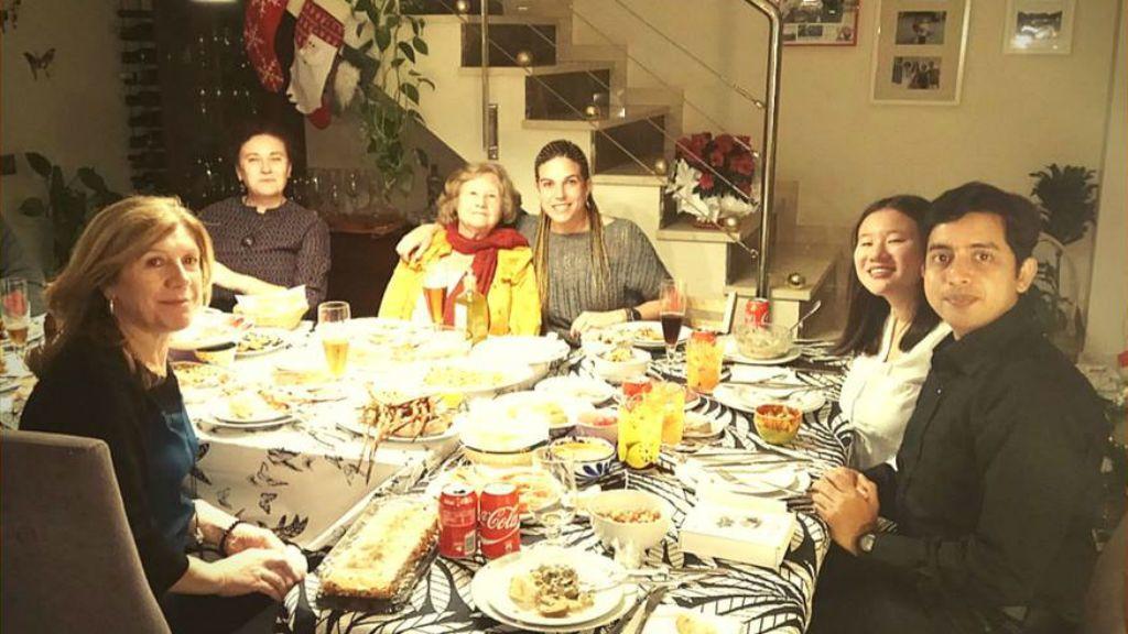 Gambas, jamón y pavo por Navidad para una 'erasmus' australiana