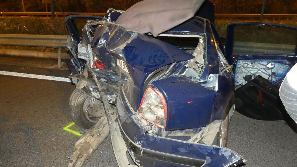 Un conductor drogado provoca la muerte de un bebé de 17 días en un accidente en Barcelona