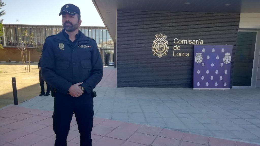 Aníbal Alias, policía nacional