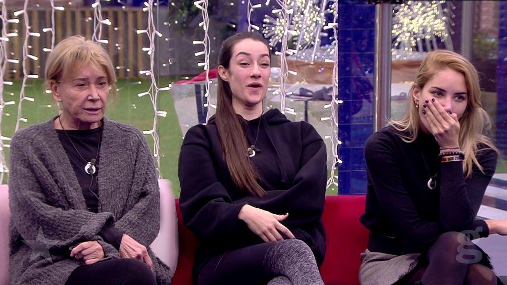 Mila, Adara y Alba