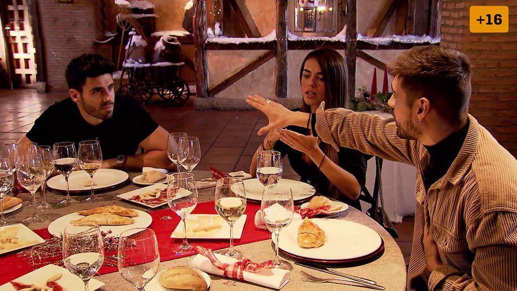 Capítulo 3: Violeta defiende a Noel en una pelea de celos con Fabio