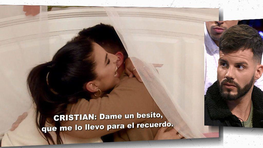 Cristina se besa con Cristian
