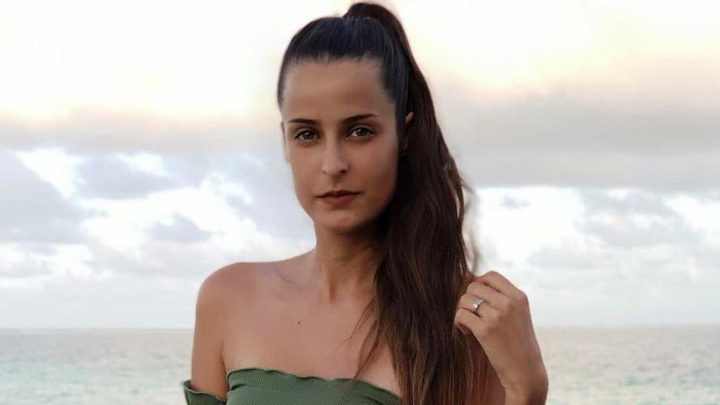 """Carolina Vico 'GH' presenta a su bebé y comparte los momentos previos al parto: """"Decidió salir una semana antes"""""""