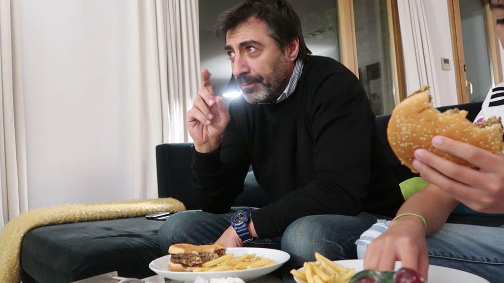 Juan del Val se atreve a ver un Barça - Madrid grabándose