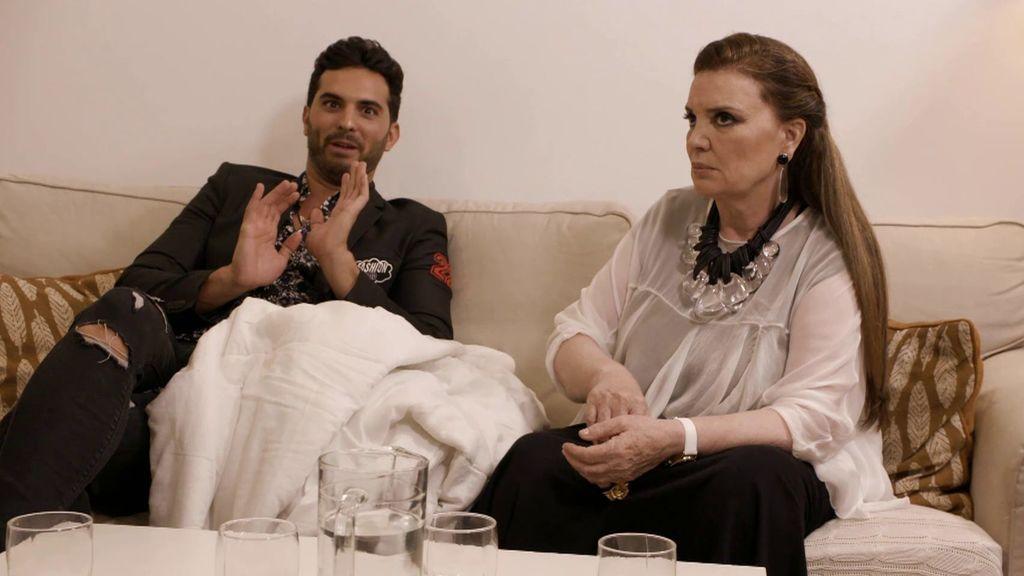 """Suso engaña a sus invitados pero no se la cuela a María José Cantudo: """"Estás diciendo mentiras muy grandes"""""""