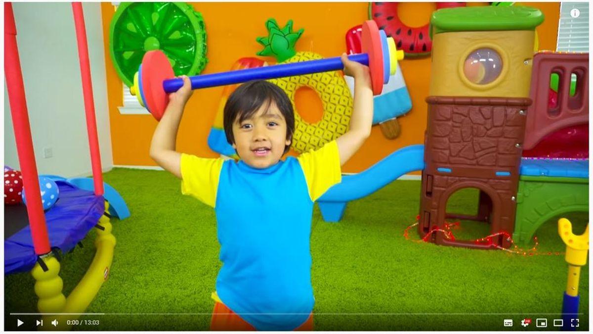 Los niños 'youtubers' y sus juguetes dominan Youtube: esta es la lista de los creadores que más dinero han ganado este año