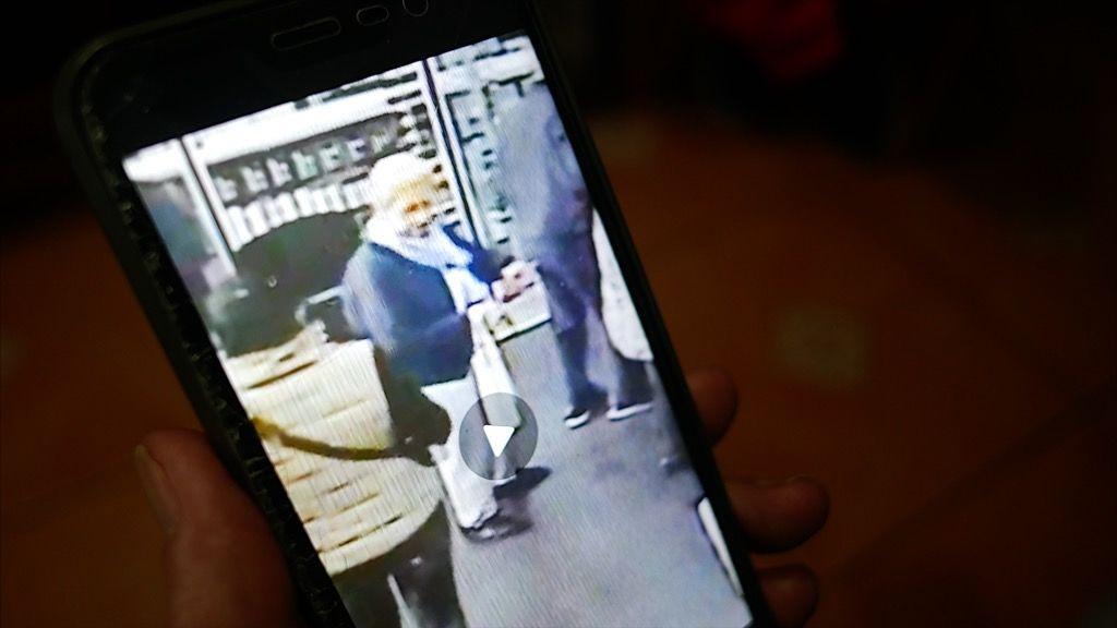 El video del robo, en la mano de Teresa.