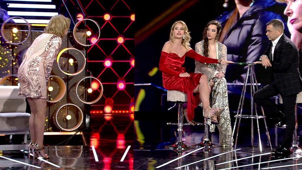 Mila amenaza con abandonar el plató de 'GH VIP 7' tras un enfrentamiento con Alba
