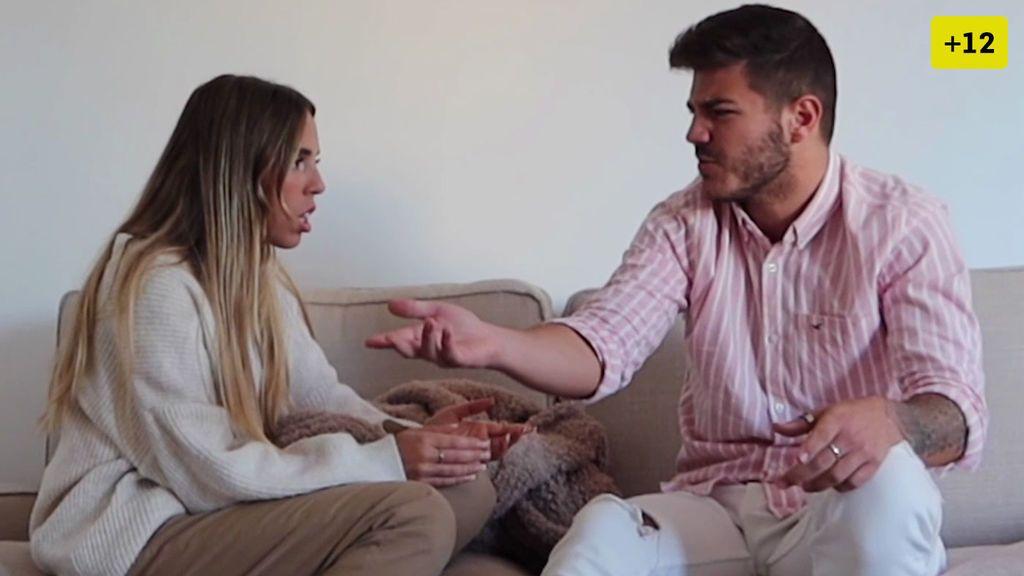 Víctor le propone a Danna tener un hijo y estalla una megabronca de pareja (1/2)