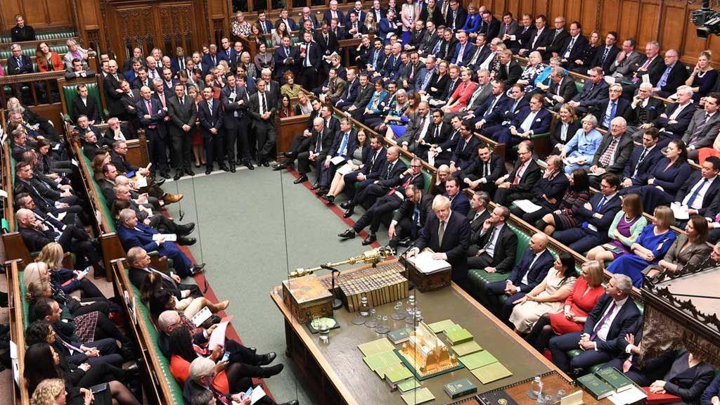 El Parlamento británico aprueba el plan de Brexit de Boris Johnson