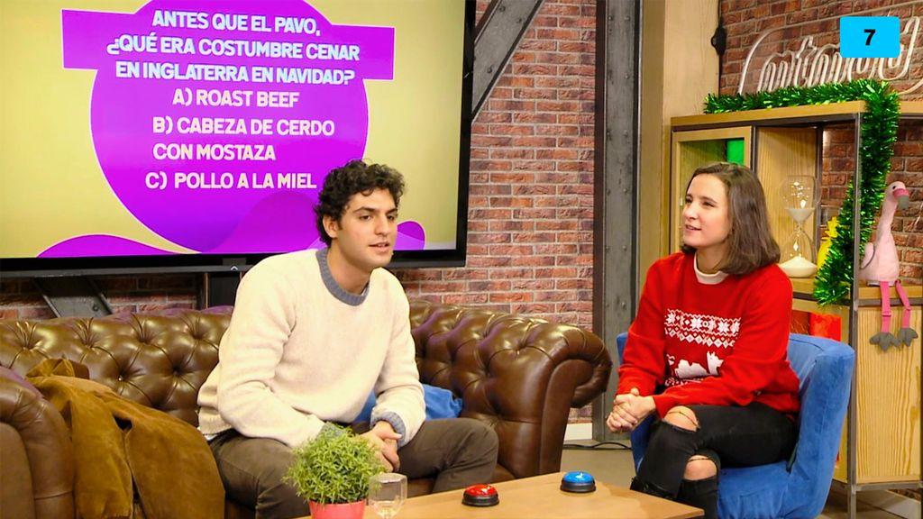 Test de curiosidades navideñas: Marta Pombo se suma a la tradición del jersey feo de Navidad