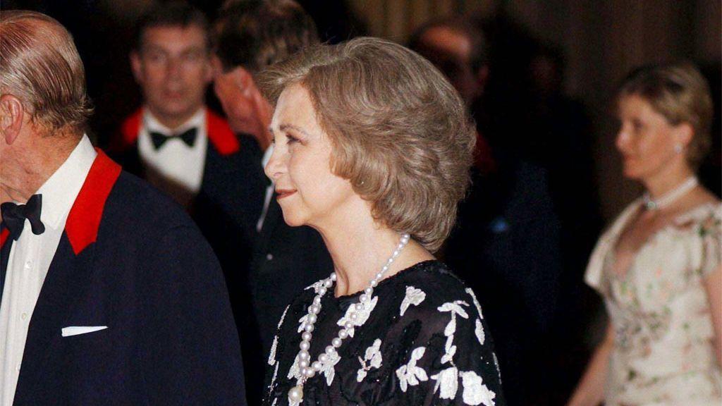 La reina Sofía y el duque de Edimburgo