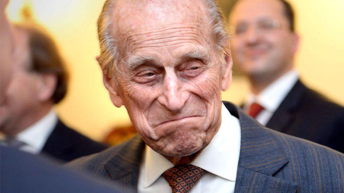 Las meteduras de pata del duque de Edimburgo: