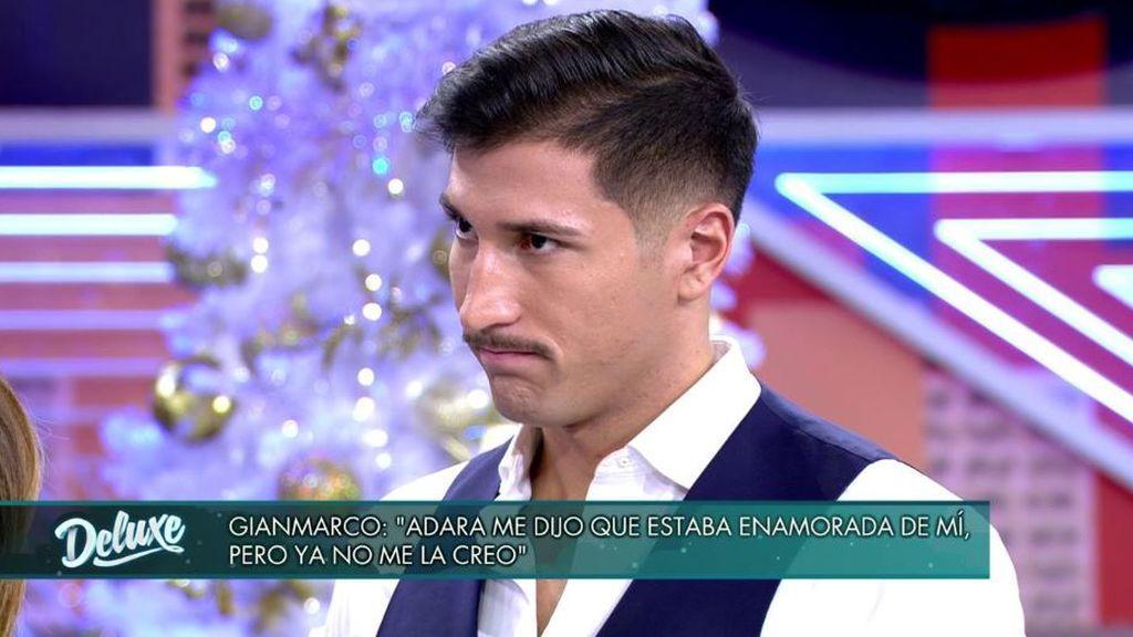 Gianmarco, decepcionado con Adara