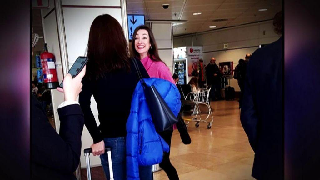 Primeras reacciones de Adara tras llegar a Palma de Mallorca: Hugo no quiere recogerla en el aeropuerto