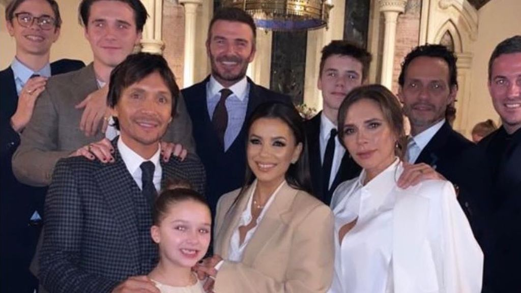 Padrinos vips y mucho estilo: Victoria y David Beckham bautizan a dos de sus cuatro hijos