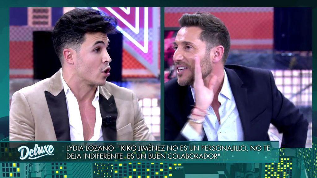"""El tenso enfrentamiento entre Kiko Jiménez y Antonio David: """"Eres un aprovechado y un 'chulo playa'"""""""