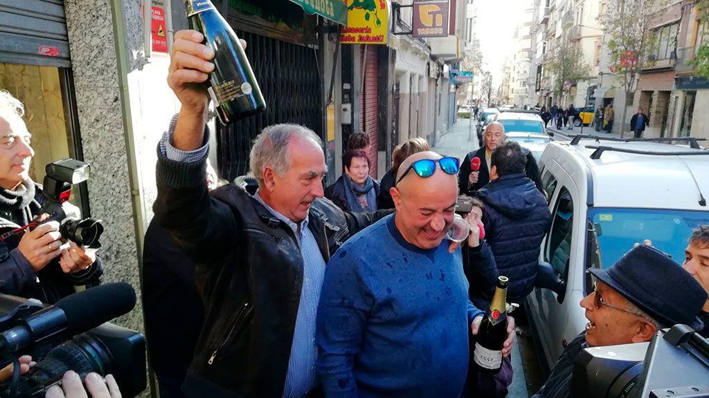 El dueño del centro aragonés El Cachirulo de Reus compró 80 series del gordo