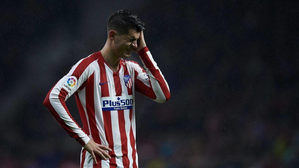 Álvaro Morata se convierte en el jugador con más fueras de juego de las cinco grandes ligas