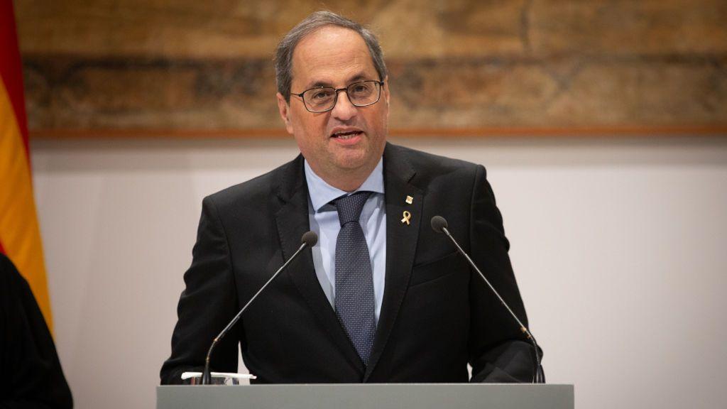 """Torra acusa al PP de """"fraude de ley"""" por solicitar a la Junta Electoral que le retire como diputado del Parlament"""