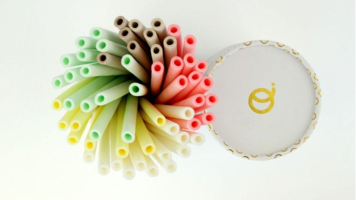 Pajitas comestibles: el sueño de todo emprendedor y el peor palo al plástico de un solo uso