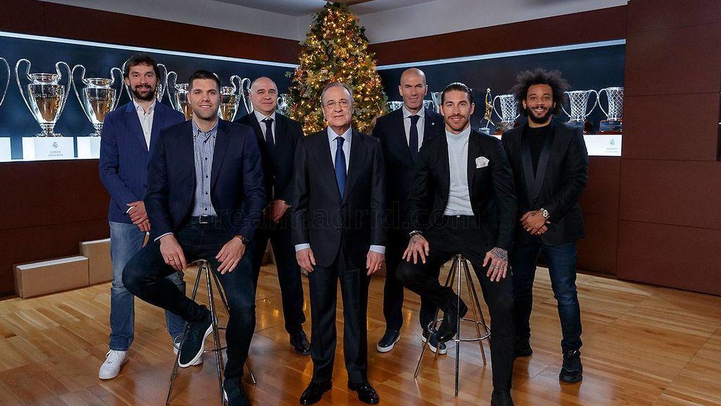 """El deseo de Florentino Pérez para 2020: """"Que nos traiga nuevos éxitos deportivos y que sigamos siendo solidarios"""""""