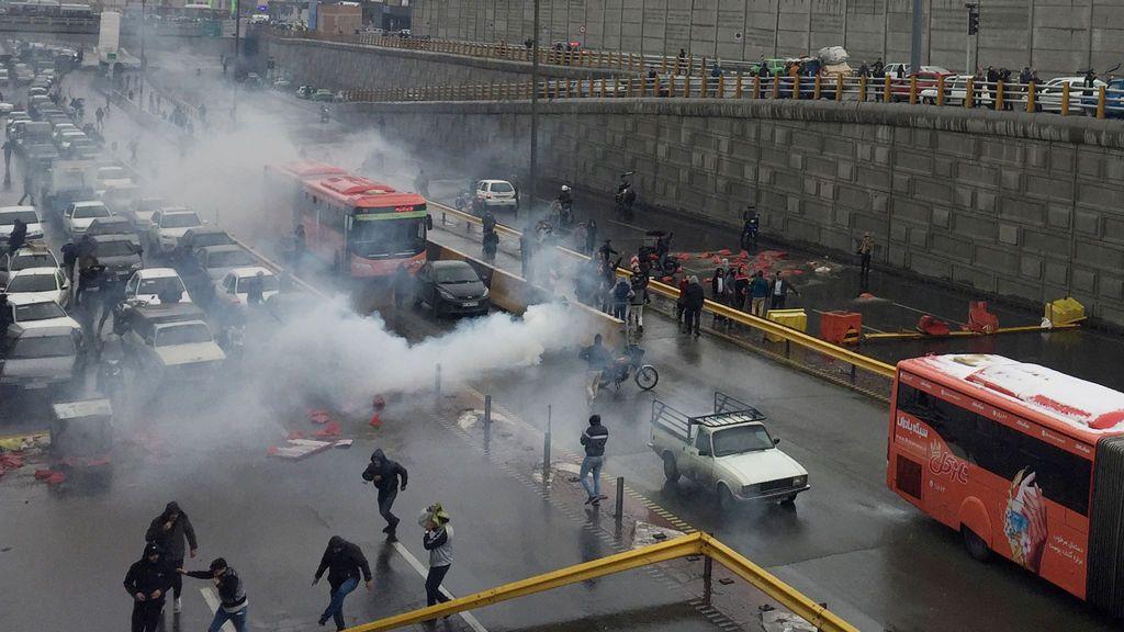 1.500 muertos en las protestas en Irán a manos del régimen