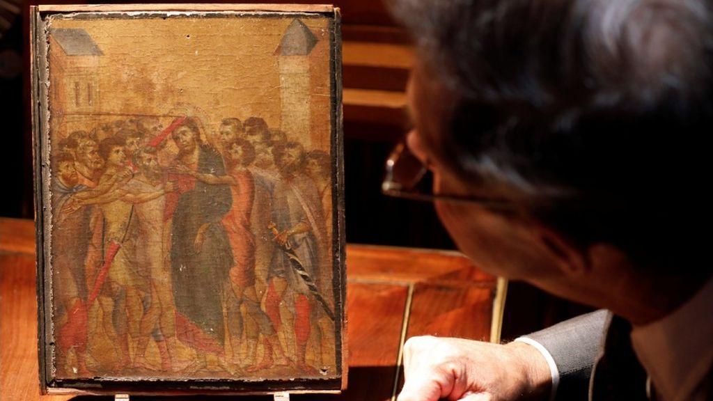 El Cristo burlado de Cimabue