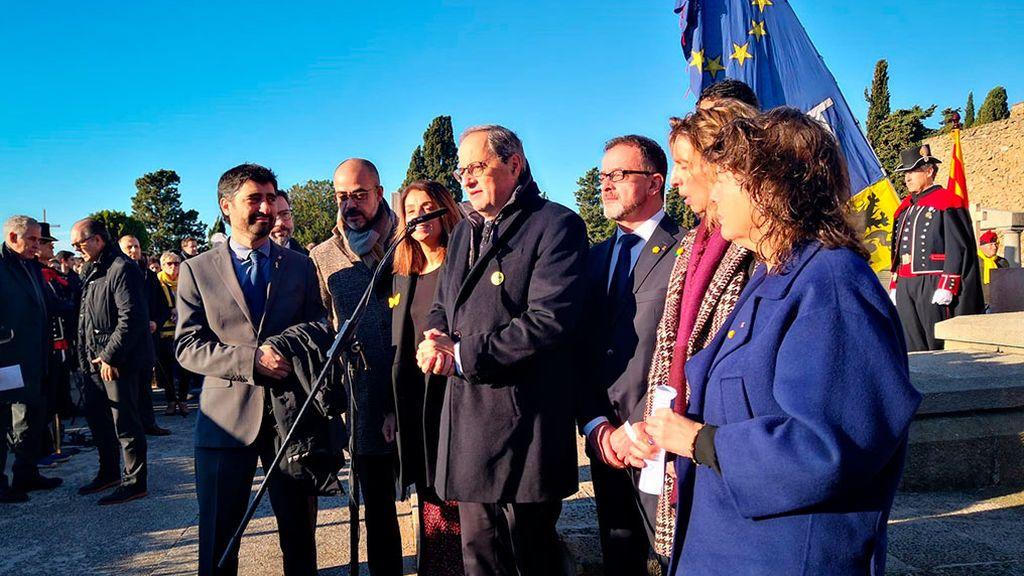 """Torra replica al rey: """"Cataluña no es una seria preocupación, lo es el estado español en Europa"""""""