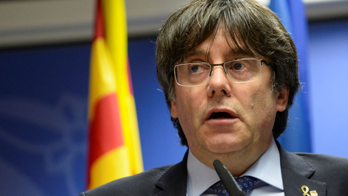 """Puigdemont, sobre el discurso del Rey y su mención a Cataluña: """"Y se queda tan ancho"""""""