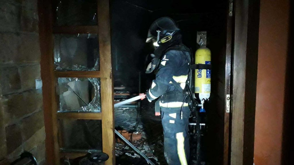 Muere una mujer en un incendio en Asturias