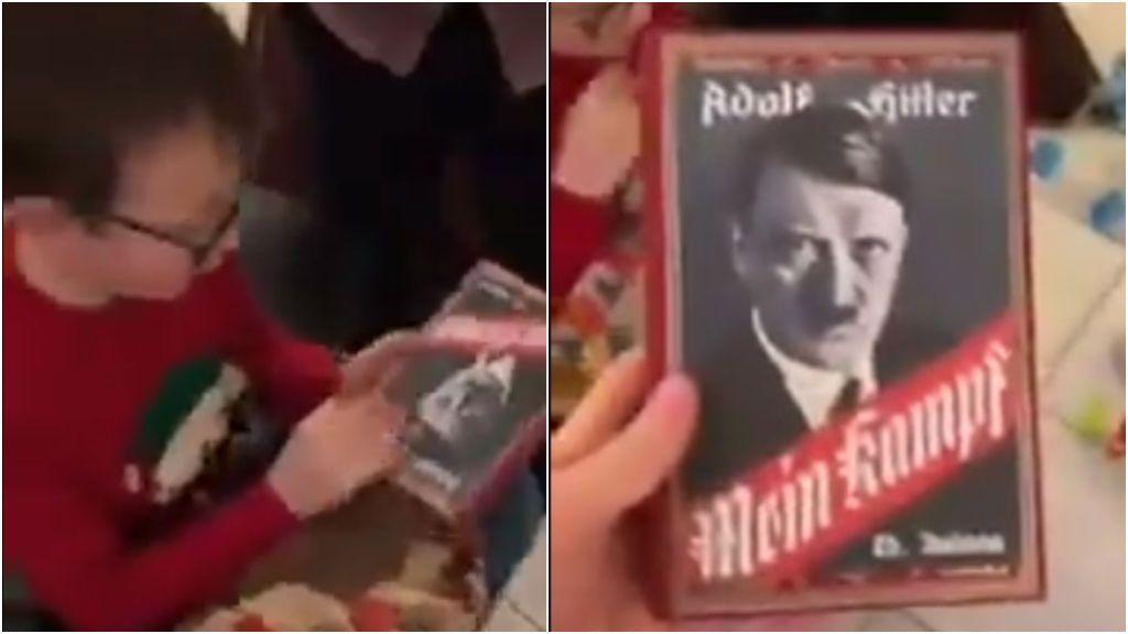 Un niño pide el videojuego 'Minecraft' y Papa Noel le trae el libro 'Mein Kampf', escrito por Adolf Hitler