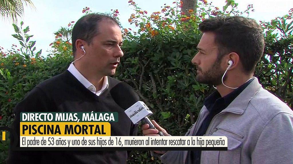 """Francisco González, Portavoz Asoc. Unificada Guardia Civiles, sobre la tragedia de la piscina de Mijas: """"Se baraja la suma de varios factores"""""""