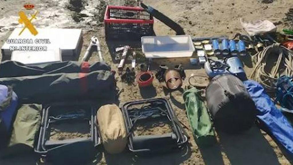 Detenido un joven por robos, maltrato animal y posesión ilícita de armas