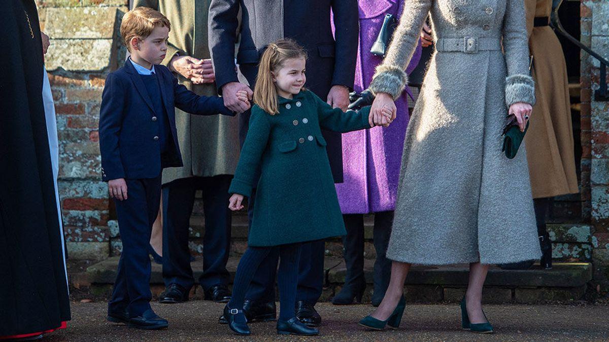 El abrigo zamorano que la princesa británica Carlota luce cada año en Navidad