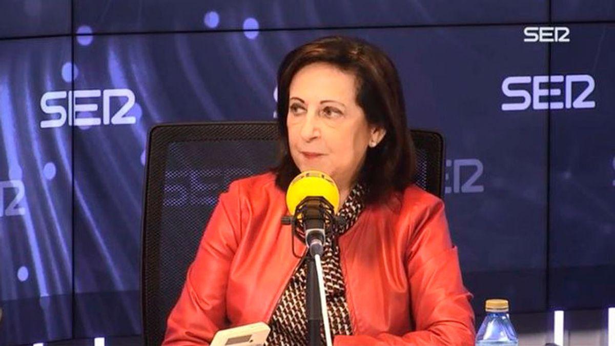 La ministra Robles niega malestar en el Ejército por la negociación del Gobierno con ERC