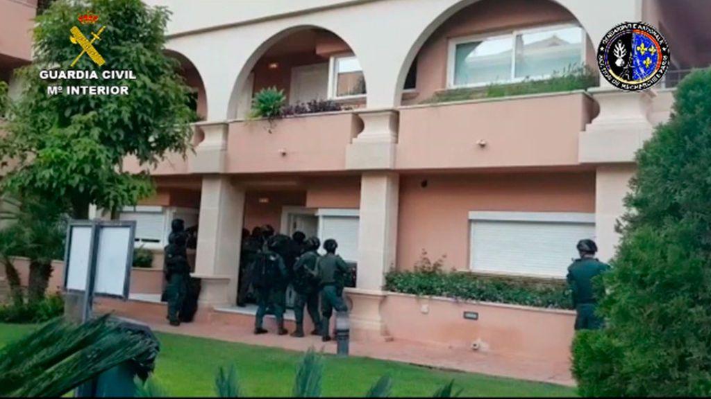 26 detenidos por transportar droga de Málaga a París y Marsella