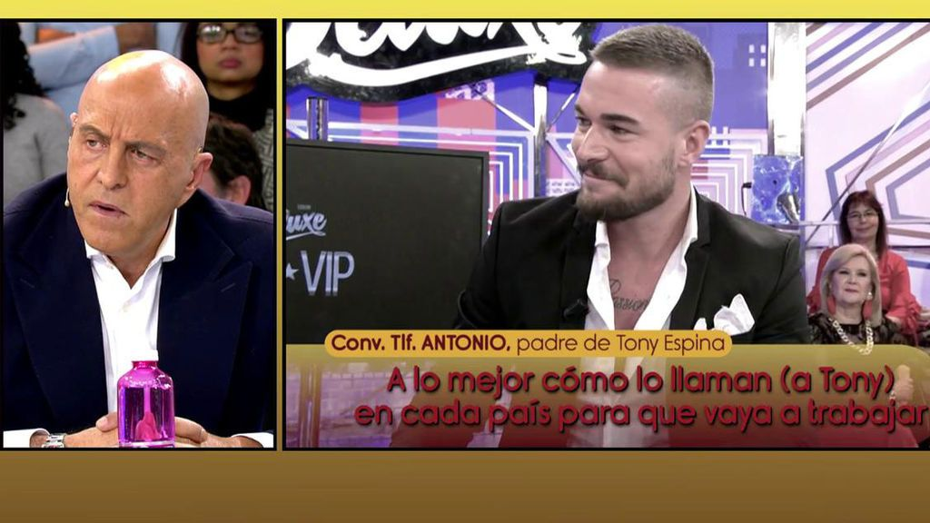"Los padres de Tony tachan a Kiko Matamoros de ""celoso"" y atacan a Rafa Mora"