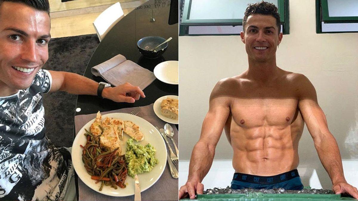 La dieta de Cristiano Ronaldo para adelgazar tras los excesos de Navidad