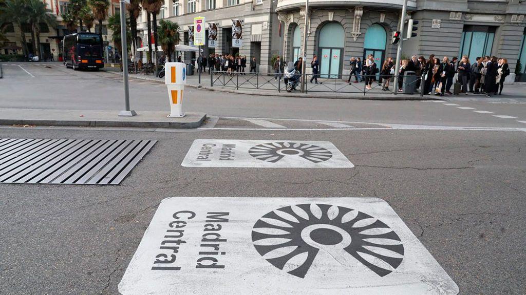 Prohibición total para los vehículos más contaminantes en Madrid Central a partir de 2020