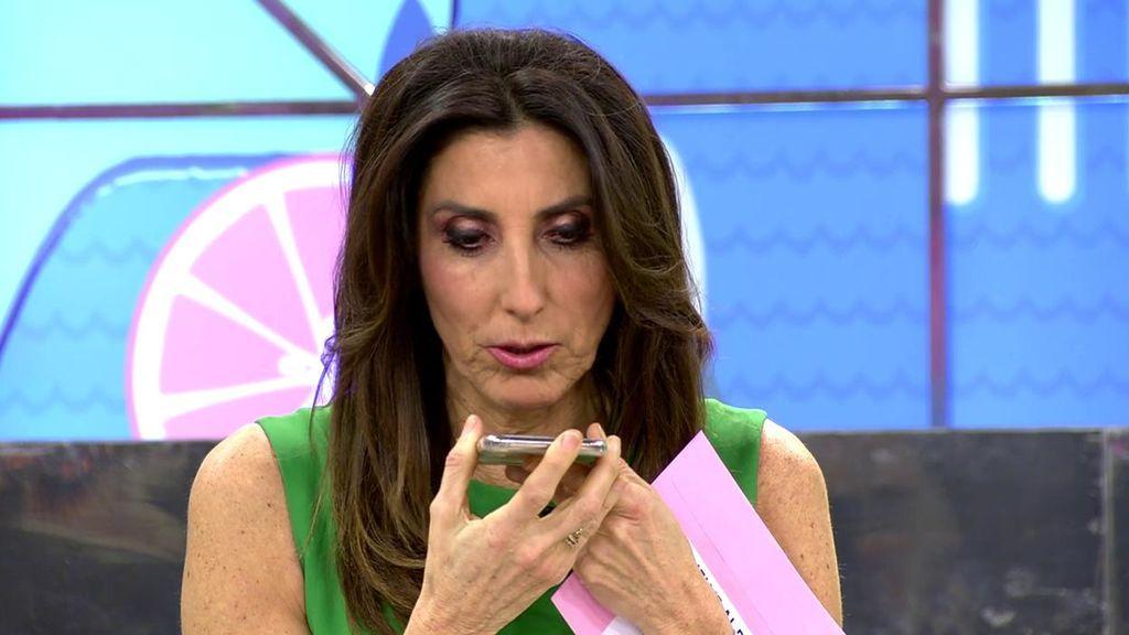 Paz Padilla llama a su madre para advertirle de la publicación de unas imágenes comprometidas suyas
