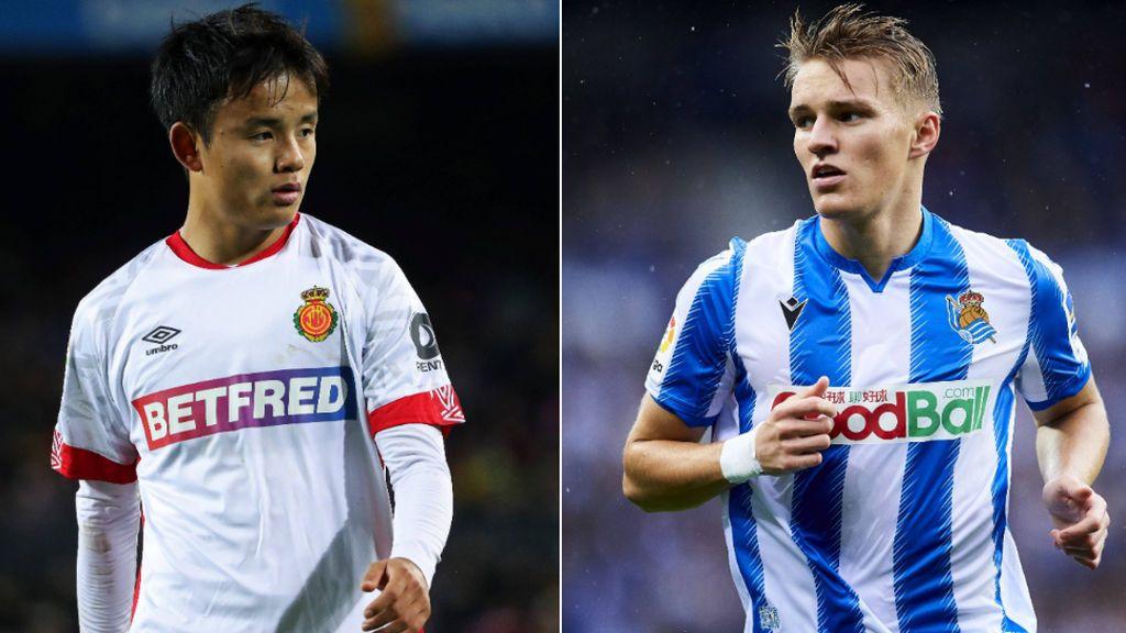 El pacto entre Real Madrid y Real Sociedad para repescar a Odegaard: Kubo, su sustituto