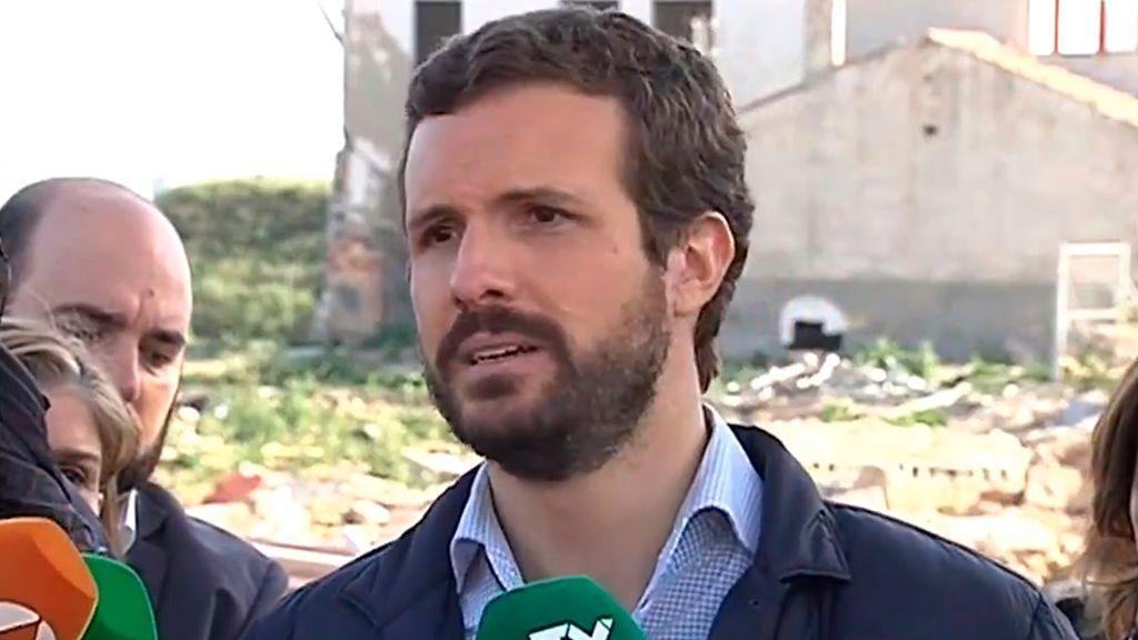 """Casado: """"Es de perogrullo, la Abogacía del Estado tiene ir contra Junqueras y Puigdemont"""""""