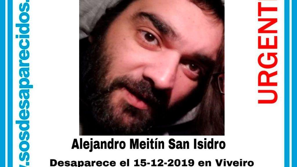Alejandro Meitín San Isidro, desaparecido en Viveiro