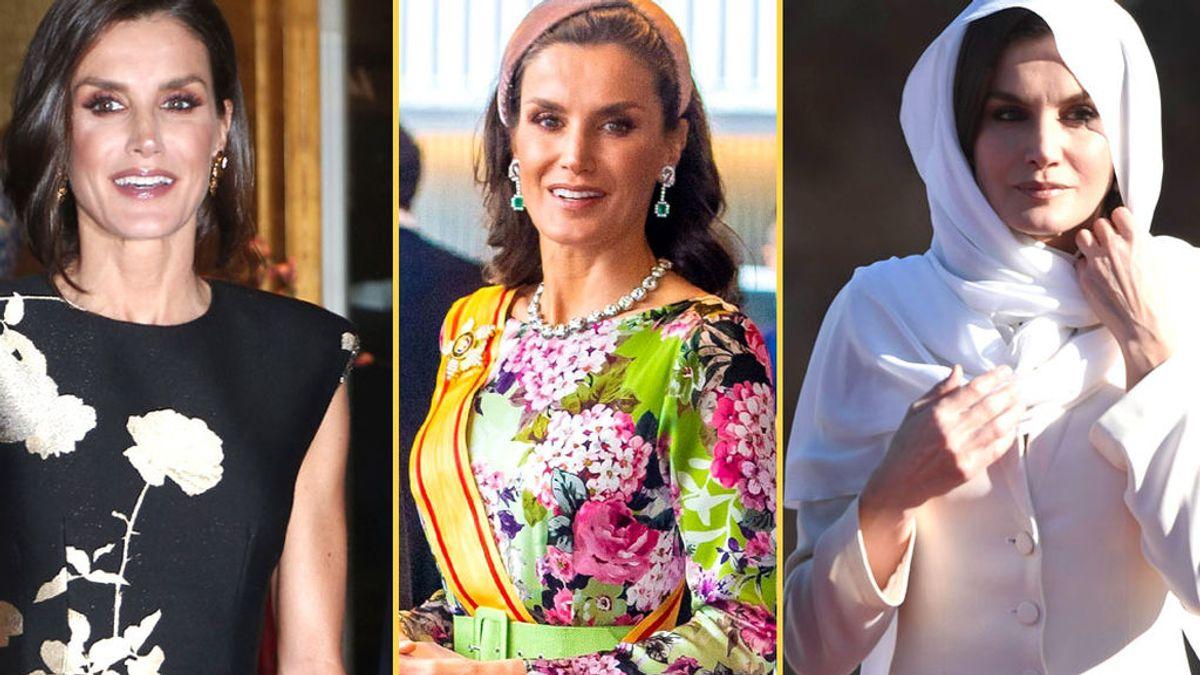 Looks de la reina Letizia en 2019