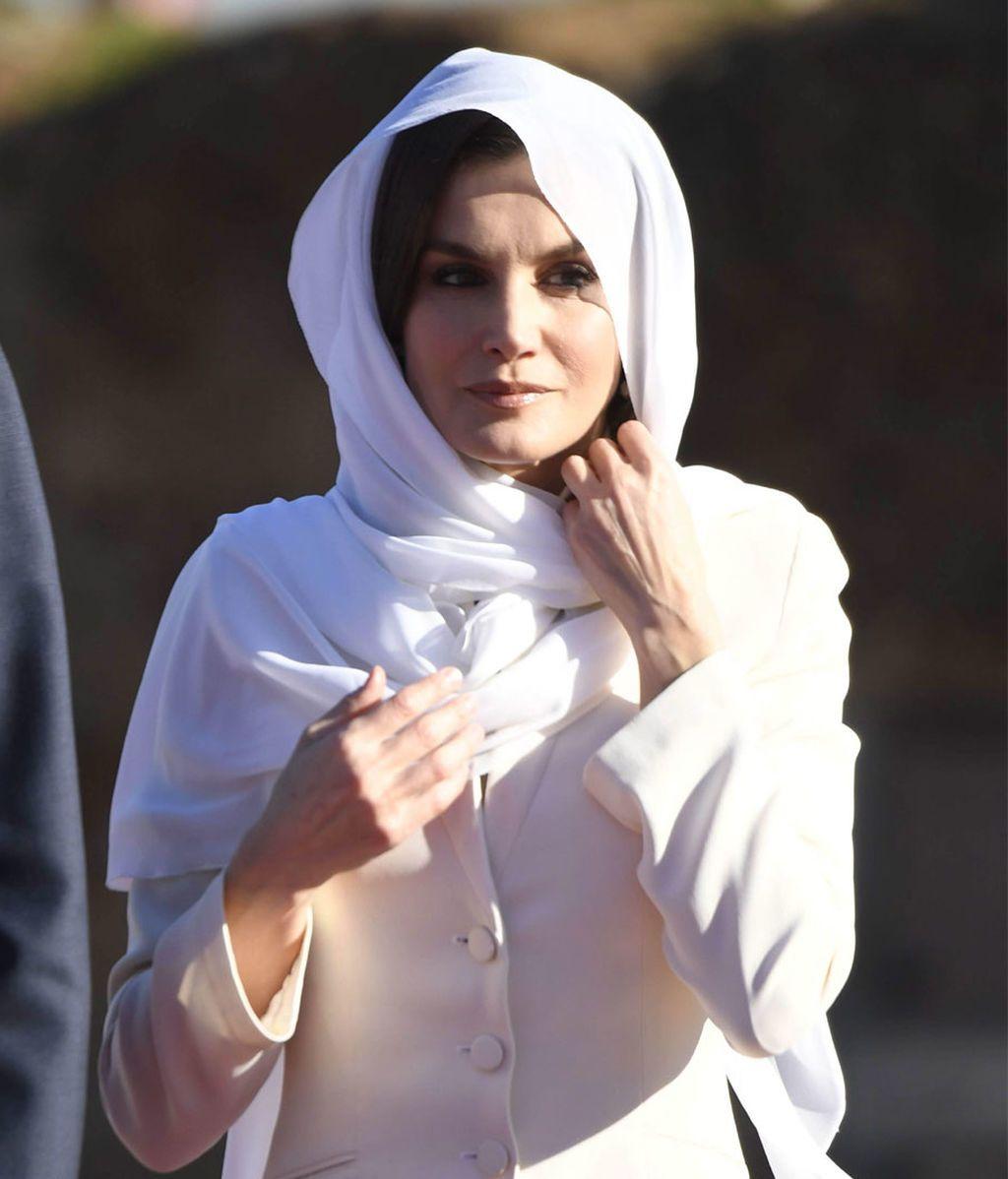 Reina Letizia en Marruecos